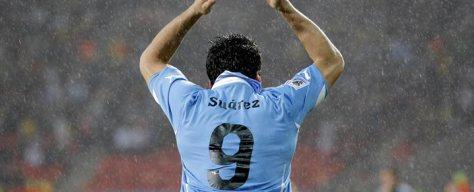 La mano de Luis Suárez y el mejor partido de Sudáfrica 2010