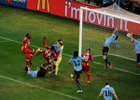 La mano de Luis Suárez y el mejor partido de Sudáfrica 2010: Uruguay vs Ghana